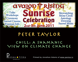 peter taylor: chill: a shamanic view on climate change & 2012