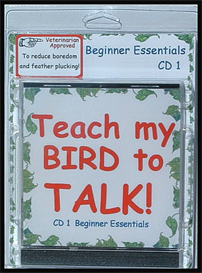 teach my bird to talk cd 1 - beginner essentials - instant download over 90 mp3s, this is not a physical disc.