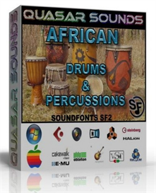 african drums and percussions soundfonts sf2