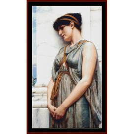 Grecian Reverie, Godward cross stitch pattern by Cross Stitch Collectibles | Crafting | Cross-Stitch | Other