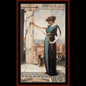 A Pompeian Lady - Alma-Tadema cross stitch pattern by Cross Stitch Collectibles | Crafting | Cross-Stitch | Other