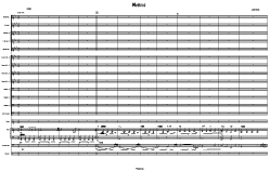 Moebius bassmelody score | Music | Jazz