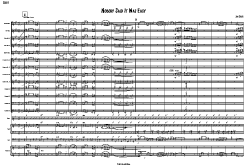 nobody said it was easy score- big band