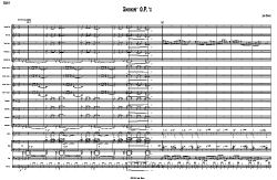 Smokin' O.P's big band score | Music | Jazz