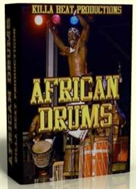 african drums & percussions kit -   -