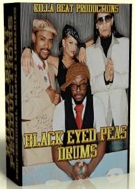 black eyed peas drum kits & samples  -