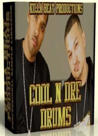 cool'n' dre drum kits & samples  -