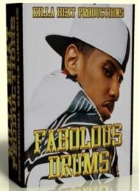 fabolous drum kits & samples  -