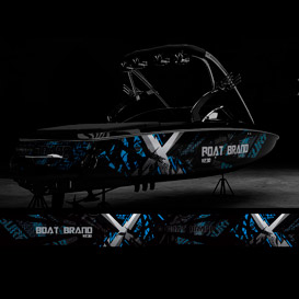 xtreme boat graphic