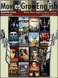 moviesgrowenglish whole-movie lessons, high level: vol. 2