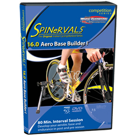 Spinervals Competition 16.0 - Aero Base Builder I | Movies and Videos | Fitness