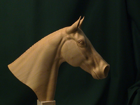 a1 carving a horse's head video dl