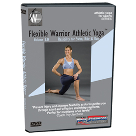 flexible warrior 3.0 - flexibility for swim, bike, run