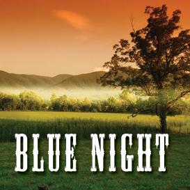 blue night backing track