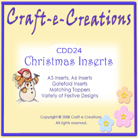 craft-e-creations christmas inserts