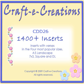 craft-e-creations 1400+ inserts collection