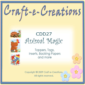 craft-e-creations animal magic collection