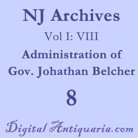 NJ Archives (I:VIII) Governors 1751-1757 (1885) | Audio Books | History