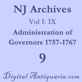 NJ Archives (I:IX) Governors 1757-1767 (1885) | Audio Books | History