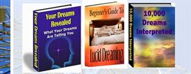 10000 dreams dictionary lucid dreaming 3 ebooks resell