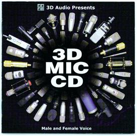 3D Mic CD-Male Voice | Music | Miscellaneous