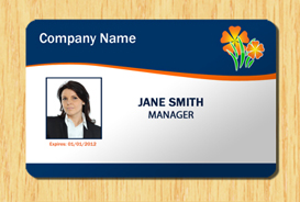 employee id template #1