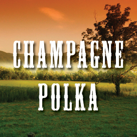 champagne polka full tempo backing track