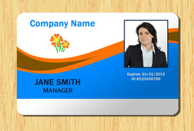 Employee ID Template 2