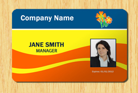 Employee ID Template 5