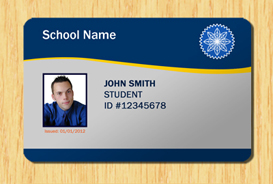 Student ID Template #1 | Other Files | Patterns and Templates