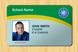 Student ID Template #3 | Other Files | Patterns and Templates
