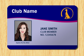 Membership ID Template #1 | Other Files | Patterns and Templates