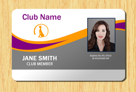 Membership ID Template #2 | Other Files | Patterns and Templates
