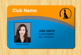 Membership ID Template #3 | Other Files | Patterns and Templates