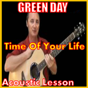 learn to play time of your life by green day
