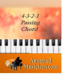 4-3-2-1 passing chord