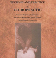 technic and practice of chiropractic