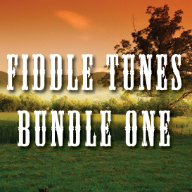 fiddle tunes bundle one - full tempo backing tracks
