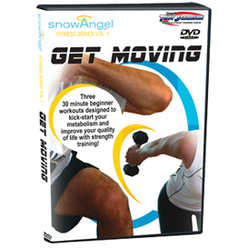 Snow Angel Fitness 1.0 - Get Moving | Movies and Videos | Fitness