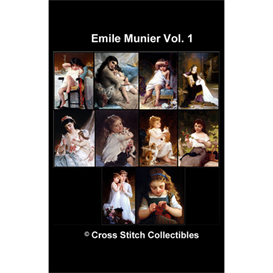 Emile Munier Vol 1 - 10 cross stitch pattern by Cross Stitch Collectibles   Crafting   Cross-Stitch   Other