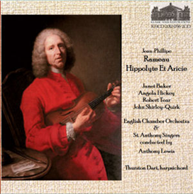 rameau: hippolyte et aricie - opera in 5 acts (1733 version, revisions by vincet d'indy)