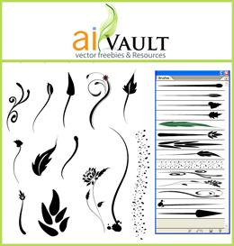 Floral BrushSet | Other Files | Arts and Crafts