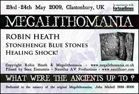 Robin Heath - Stonehenge Bluestones Healing Shock! - Megalithomania 2009 MP4 | Movies and Videos | Documentary