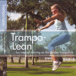 trampo-lean  - fun interval training on the garden trampoline