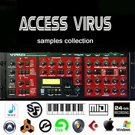 Best of Access Virus Samples Reason kontakt 5 6 Halion Fl studio synth lead electro | Music | Soundbanks