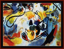 The Last Judgement, Kandinsky cross stitch pattern by Cross Stitch Collectibles | Crafting | Cross-Stitch | Wall Hangings