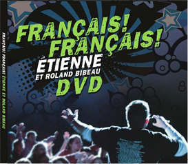 dvd: français ! français ! (all 20 official music videos including 10 karaoke versions)