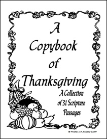 A Copybook of Thanksgiving | eBooks | Education