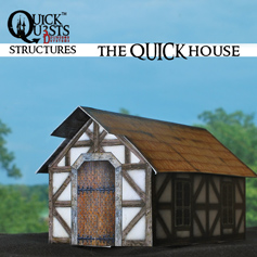 QuickQuests - The QUICK House for Dungeons  and Dragons, D&D, Gurps, Warhammer and other RPGs | Crafting | Paper Crafting | Other