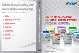 how to be successful with spot process printing